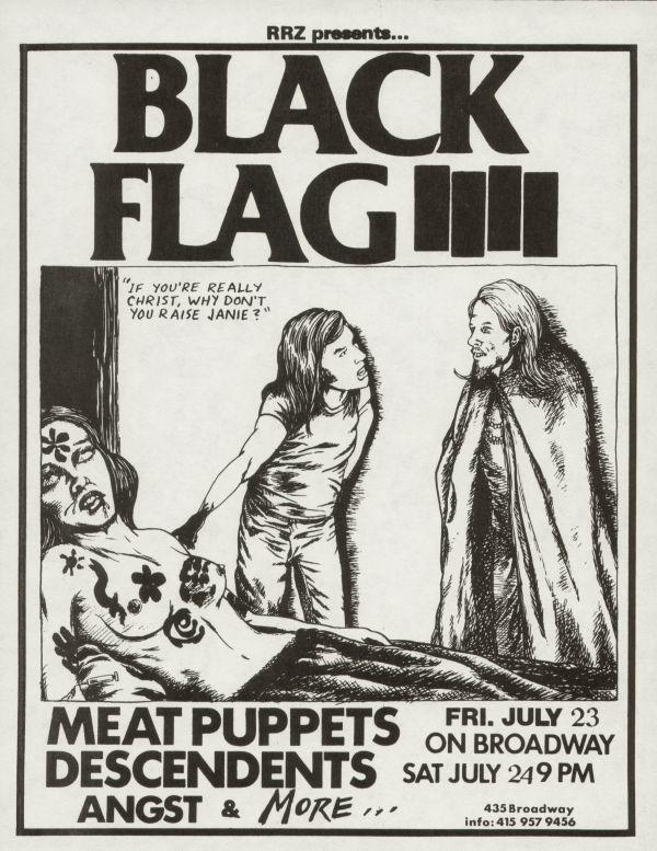 Black Flag-Meat Puppets-Descendents-Angst @ On Broadway San Francisco CA 7-23-82 + 7-24-82