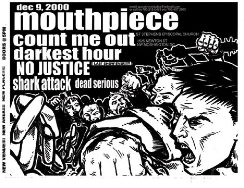 Mouthpiece-Count Me Out-Darkest Hour-Shark Attack-No Justice-Dead Serious @ St. Stephens Church Washington DC 12-9-00