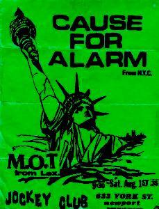 Cause For Alarm-M.O.T. @ Jockey Club Newport KY 8-1-87