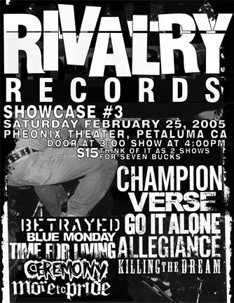 Rivalry Records Showcase 2005
