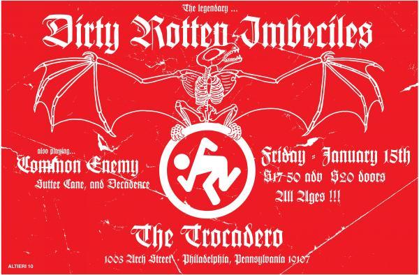 DRI-Common Enemy-Decadence @ Trocadero Philadelphia PA 1-15-10