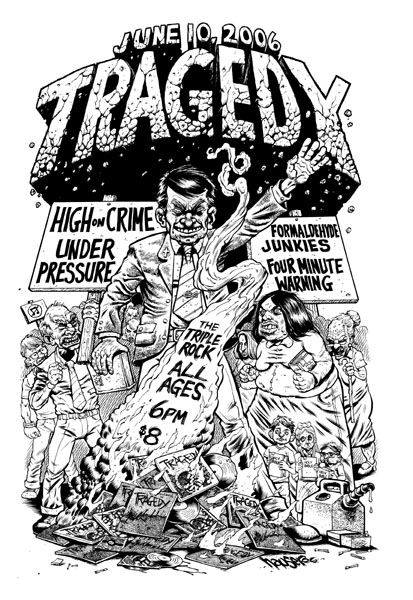 Tragedy-High On Crime-Under Pressure-Four Minute Warning-Formaldehyde Junkies @ The Triple Rock Minneapolis MN 6-10-06