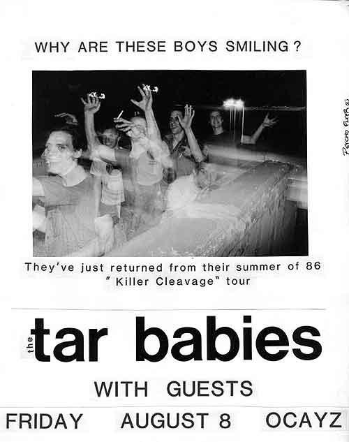 Tar Babies @ Ocayz Madison WI 8-8-86