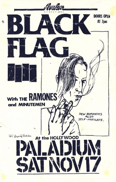 Black Flag-Ramones-Minutemen @ Hollywood Palladium Hollywood CA 11-17-84