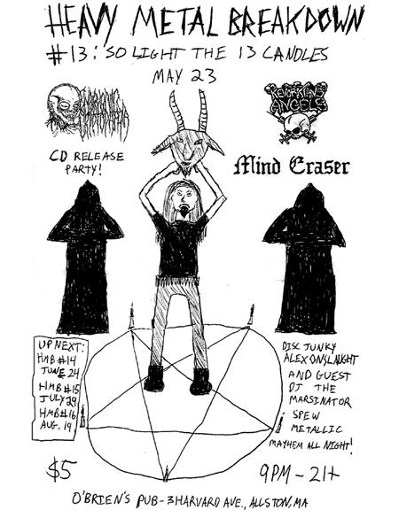 Mind Eraser-Kevorkian's Angels @ O'Brien's Pub Allston MA 6-23-06
