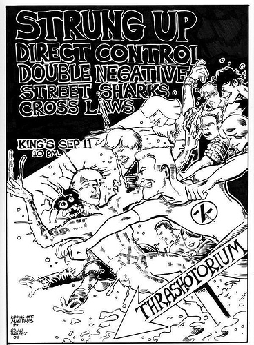 Strung Up-Direct Control-Double Negative-Street Sharks-Cross Laws @ King's Raleigh NC 9-11-06