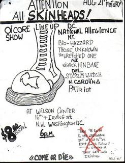Oi-Core Show 1992