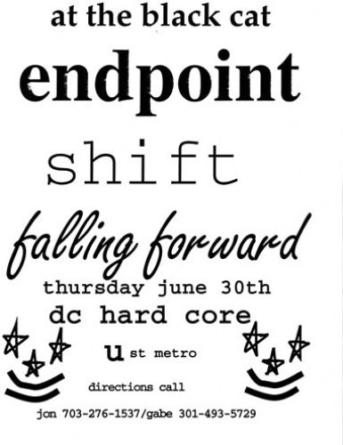 Shift-Endpoint-Falling Forward @ Black Cat Washington DC 6-30-94