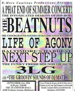 The Beatnuts-Life of Agony-Next Step Up-3LG @ The Teamsters