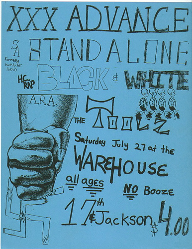 Stand Alone-Black & White-The Toolz @ Warehouse Indianapolis IN 7-27-91