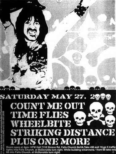 Time Flies-Count Me Out-Wheelbite-Striking Distance @ VFW Hall Falls Church VA 5-27-00