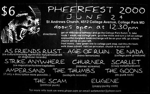 Pheerfest 2000