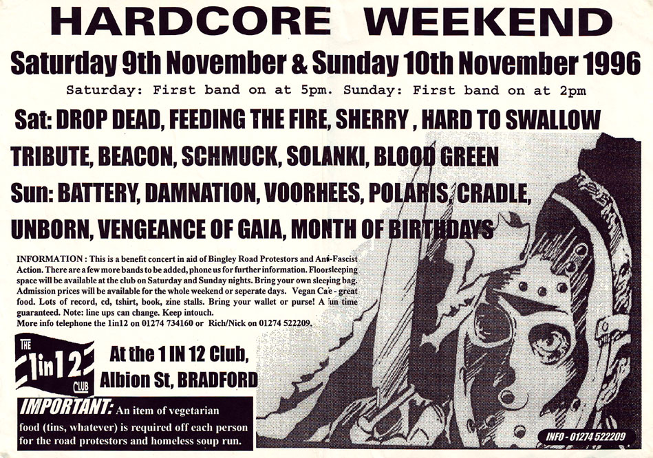 Hardcore Weekend November 1996
