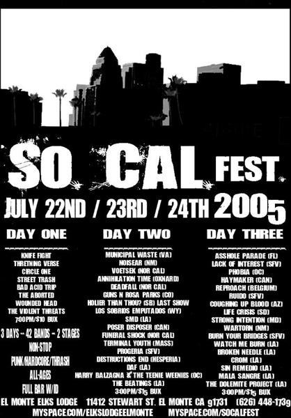 So Cal Fest 2005