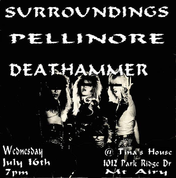 Surroundings-Pellinore-Death Hammer @ Mt Airy NC 7-16-08