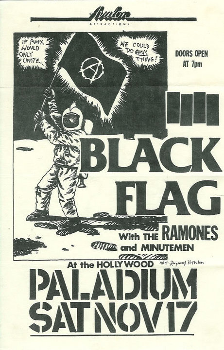 Black Flag-Ramones-Minutemen @ The Hollywood Palladium Hollywood CA 11-17-84