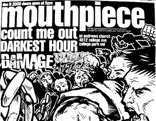 Mouthpiece-Count Me Out-Darkest Hour-No Justice-Dead Serious-Shark Attack 12-9-00
