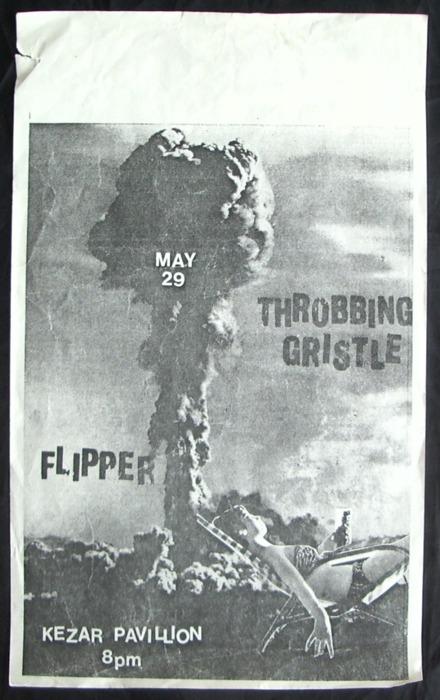 Throbbing Gristle-Flipper @ Kezar Pavillion San Francisco CA 5-29-79