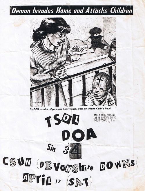 TSOL-DOA-Sin 34 @ Devonshire Downs Hemet CA 4-17-82