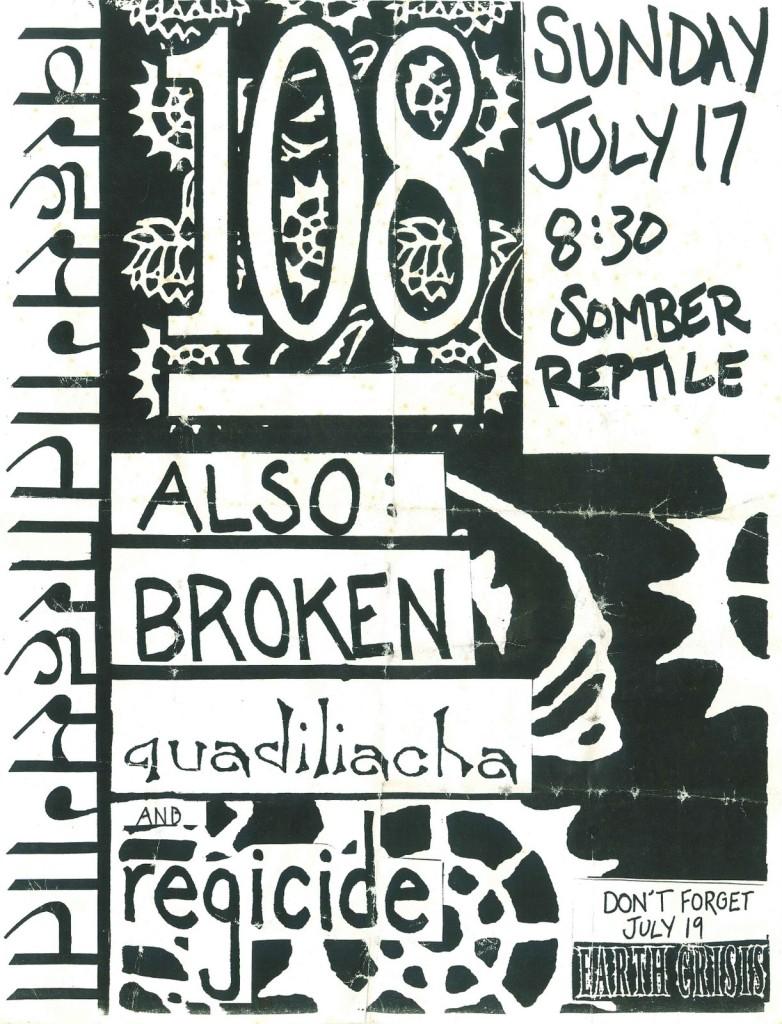 108-Broken-Regicide-Quadiliacha @ Somber Reptile Atlanta GA 7-17-94