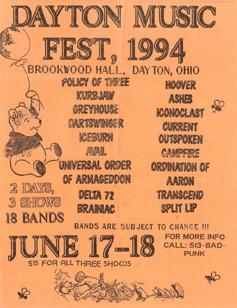 Dayton Music Fest 1994