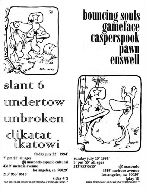 Macondo July 1994