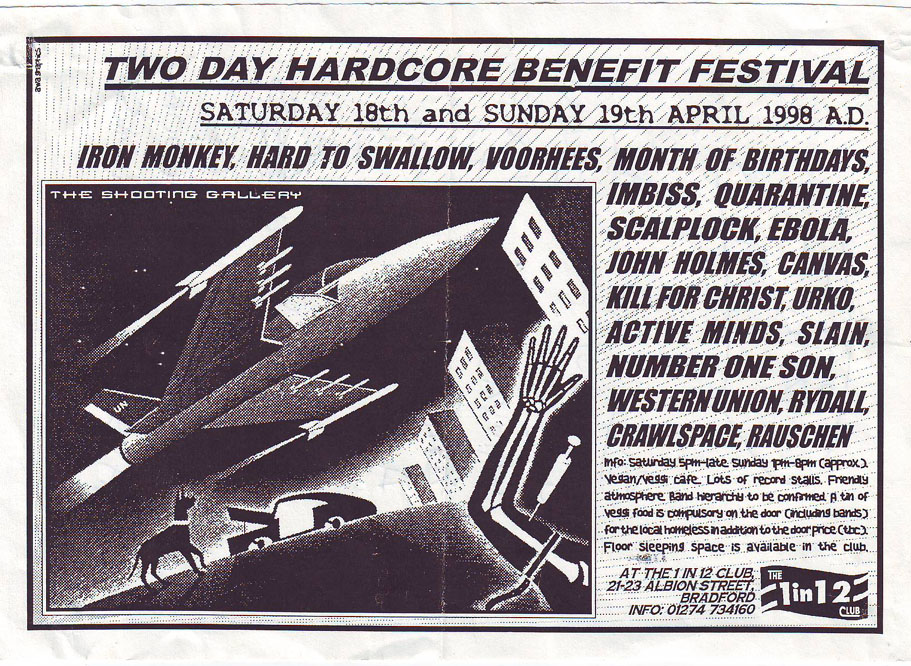 1 In 12 Club Benefit 1998