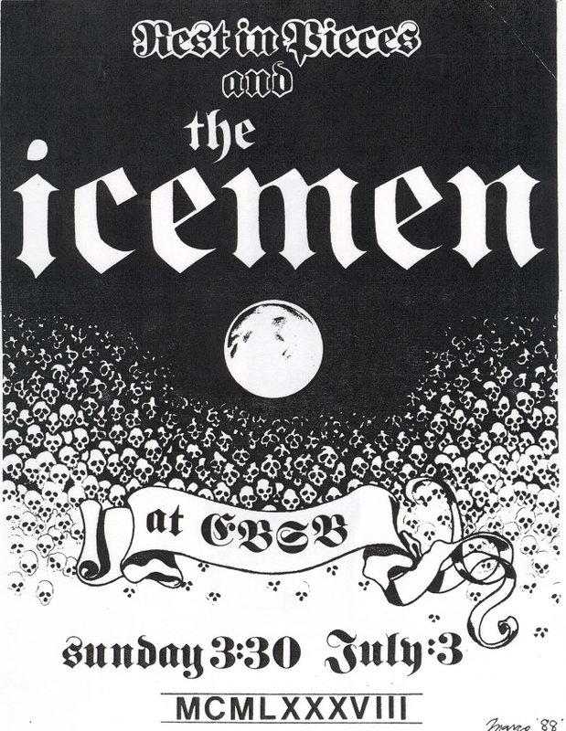 Rest In Pieces-The Icemen @ CBGB New York City NY 7-3-88