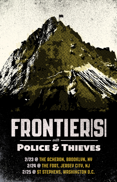 Frontiers-Police & Thieves Tour 2012