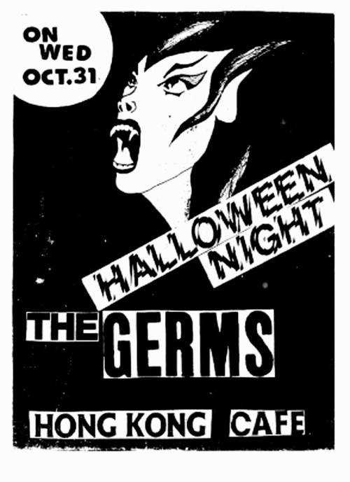 The Germs @ Hong Kong Cafe Los Angeles CA 10-31-79