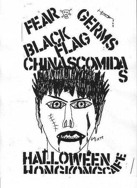 Fear-The Germs-Black Flag @ Hong Kong Cafe Los Angeles CA 10-31-79