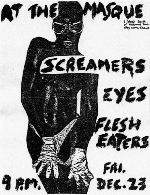 Screamers-Eyes-Flesh Eaters @ The Masque Hollywood CA 12-23-77