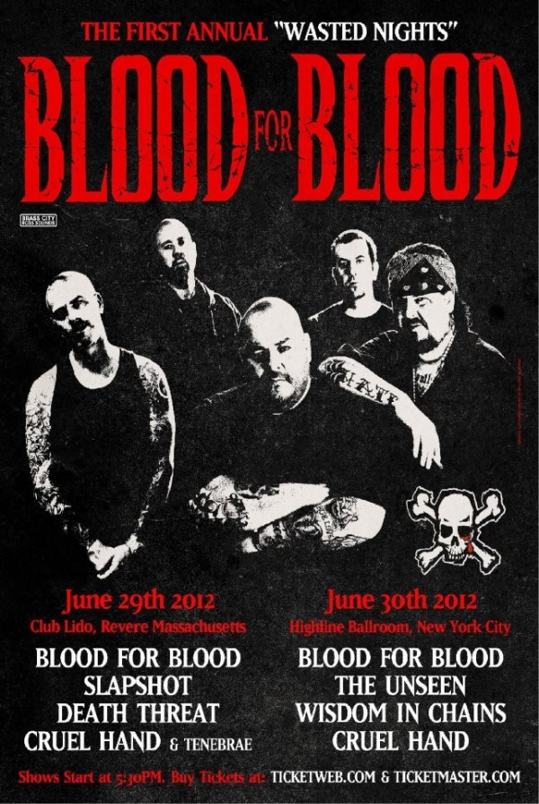 Blood For Blood Reunions 2012