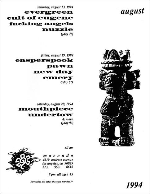Macondo August 1994