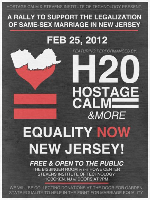 h2o-Hostage Calm @ Stevens Institute of Technology Hoboken NJ 2-25-12
