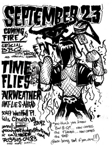 Time Flies-Fairweather-What Lies Ahead @ Falls Church VA 9-23-02