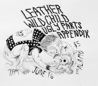 Leather-Wild Child-Ugly Parts-Appendix @ The Alamo 6-16-12
