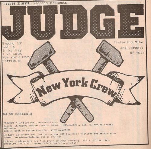 Judge (Schism Records)