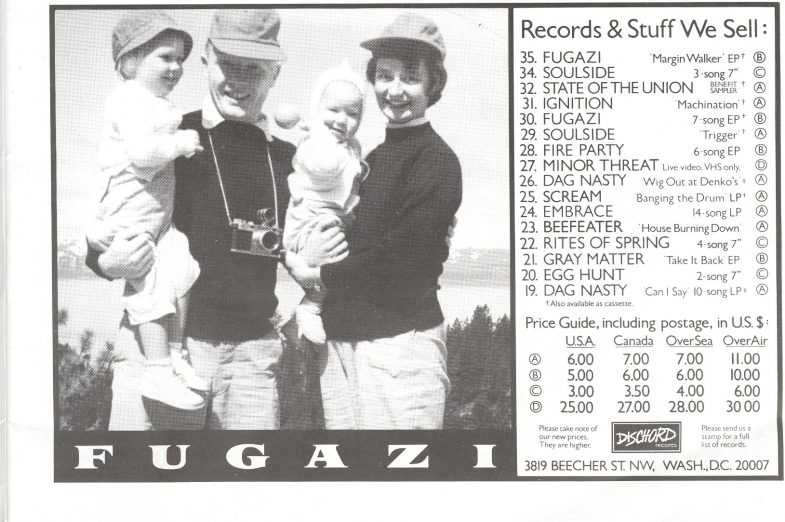 Dischord Records (Fugazi)