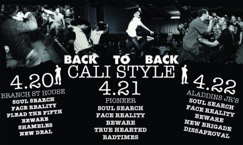 Back To Back Records California Tour 2012