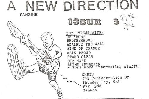 A New Direction Fanzine