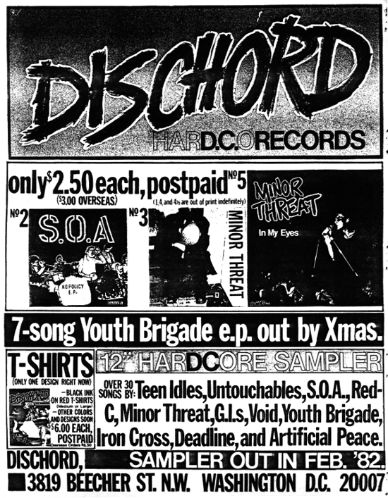 Dischord Records (The Year In Seven Inches)