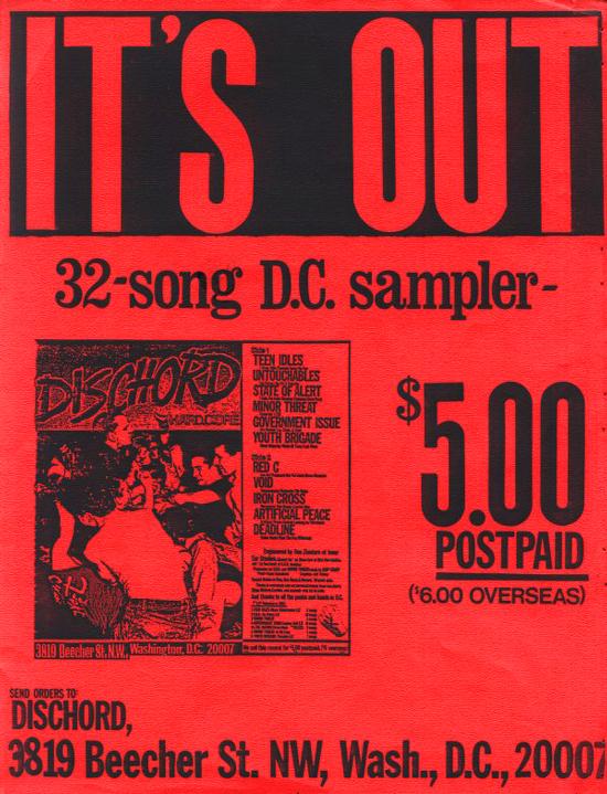 Dischord Records (Flex Your Head)
