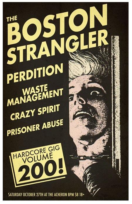 Boston Strangler-Perdition-Waste Management-Crazy Spirit-Prisoner Abuse @ Archeron Brooklyn NY 10-27-12