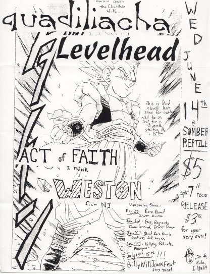 Quadiliacha-Levelhead-Act Of Faith-Weston @ Somber Reptile Atlanta GA 6-14-95