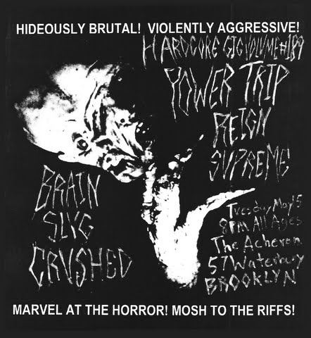 Power Trip-Reign Supreme-Brain Slug-Crushed @ Acheron Brooklyn NY 5-15-12