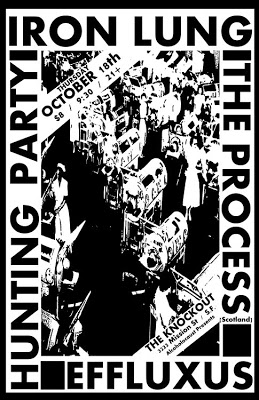 Iron Lung-The Process-Hunting Party-Effluxus @ The Knockout San Francisco CA 10-18-12