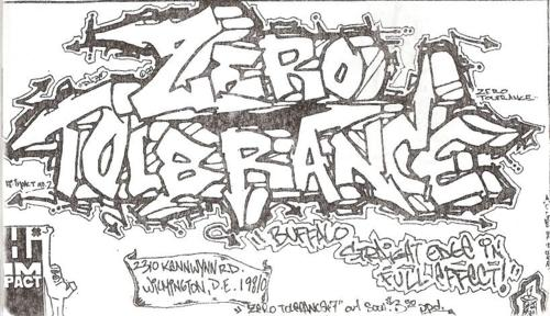Zero Tolerance (Hi Impact Records)