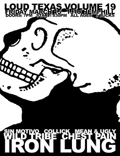 Iron Lung-Wild Tribe-Chest Pain-Sin Motivo-Collick-Mean & Ugly @ 3-15-13