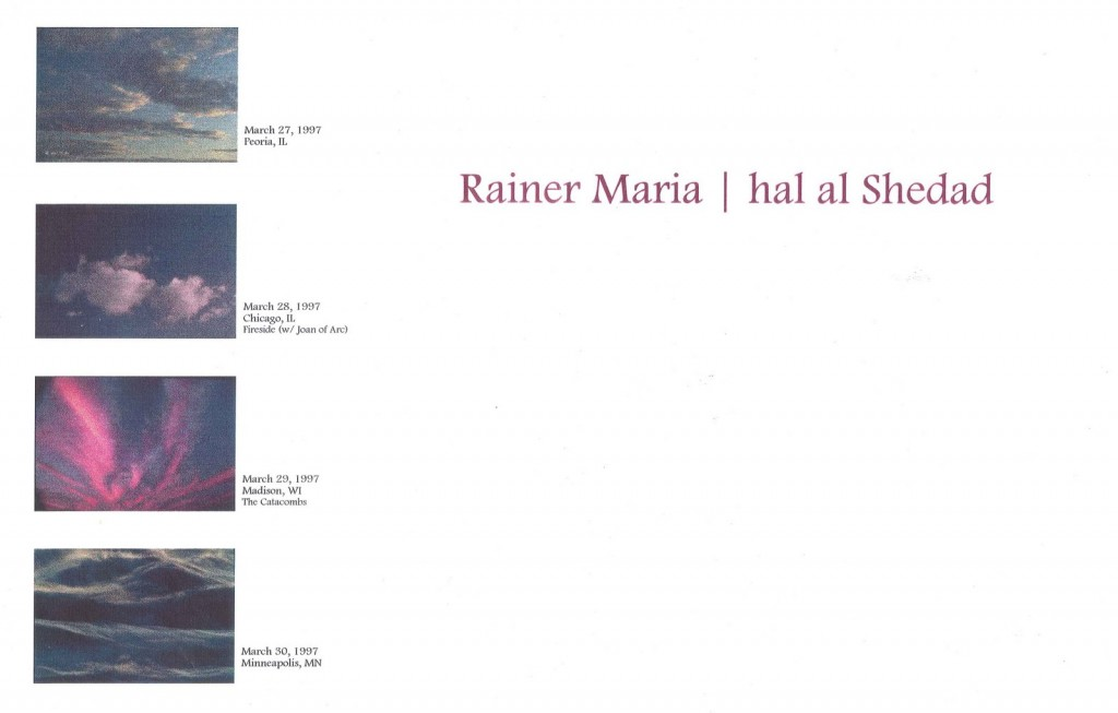 Rainer Maria-Hal Al Shedad March 1997